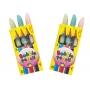 Guma Creioane Colorate